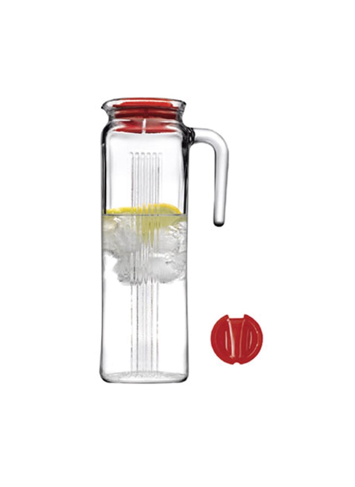 Standart Paşabahçe Kırmızı Kapaklı Buzdolabı Sürahisi